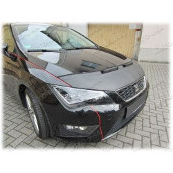 Hood Bra for  SEAT Leon 5F Mk3  m.y. 2012-present