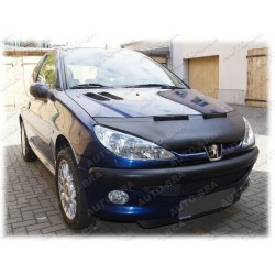 Hood Bra for Peugeot 206 (CC) m.y. 1998 - 2009