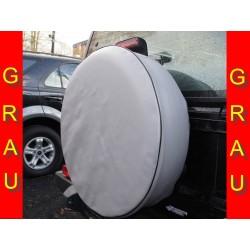 Šedá kryt rezervního kola Náhradní kryt pneumatik Kryt pneumatik