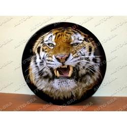 Témata Tygr kryt rezervního kola Náhradní kryt pneumatik Kryt pneumatik