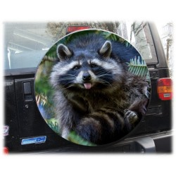 Themes Raccoon Spare Wheel Cover