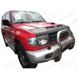Hood Bra for Mitsubishi Pajero 2. Gen m.y. 1990 - 2000