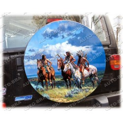 Themes Indians Spare Wheel Cover