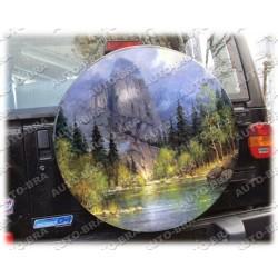 Themes Mountain Spare Wheel Cover