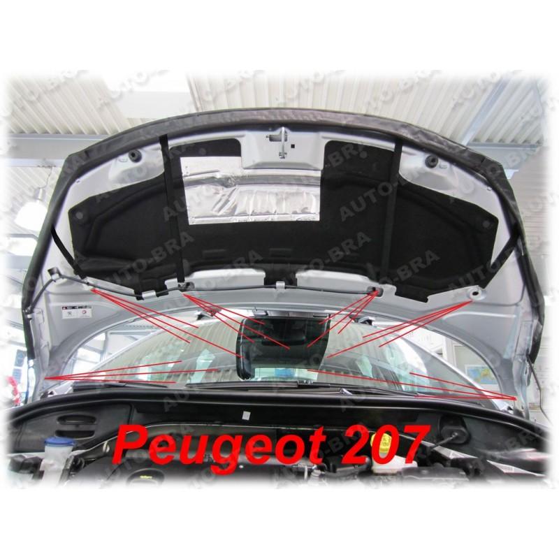 PEUGEOT 207 2006 /> BONNET BRA STONEGUARD PROTECTOR
