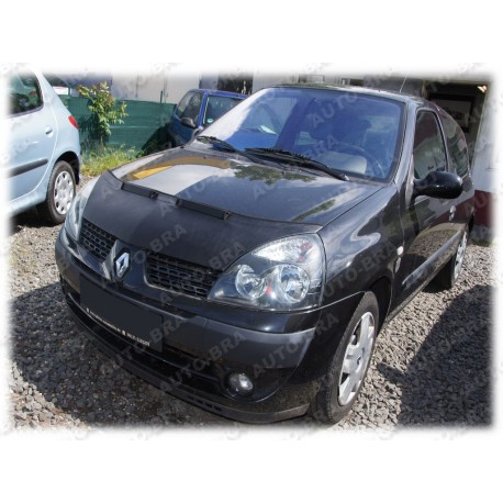 Genialny Hood Bra for Renault Clio II 2 B Phase 2 my 2001 - 2005 UR13