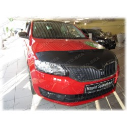 Hood Bra for Skoda Rapid m.y. 2012-present