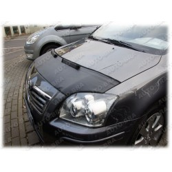 Hood Bra for Toyota Avensis T25 m.y. 2003 - 2009