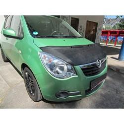 Hood Bra for Opel Vauxhall Agila m.y. 2007 - 2015