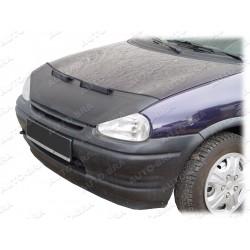 Haubenbra für Opel Vauxhall Corsa B mit Bösem Blick voll Bj. 1993 - 2000