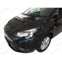 Hood Bra for Opel Vauxhall Corsa E m.y. 2014 -present