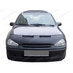 Hood Bra for Opel Vauxhall Corsa B with Bad Look part m.y. 1993 - 2000