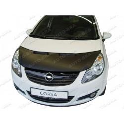Hood Bra for Opel Vauxhall Corsa D m.y. 2006 - 2014