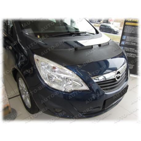 Hood Bra for Opel Vauxhall Meriva B m.y. 2010