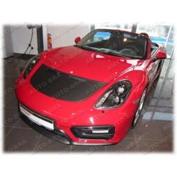 Hood Bra for Porsche 911 Carrera Targa Typ 991, Boxster Cayman Spyder Typ 981 m.y. since 2012