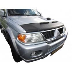 Hood Bra for Mitsubishi Pajero 3. Gen m.y. 1999 - 2006