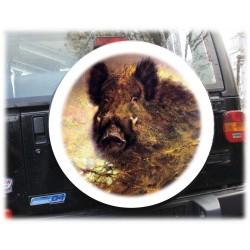 Тема Медведи чехол запасного колеса