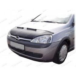Hood Bra for Opel Vauxhall Corsa C m.y. 2000 - 2006