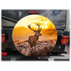 Themes Deer Spare Wheel Cover