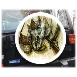 Temi Caccia Coperchio ruota di scorta Coperchio ruota di scorta Coperchio pneumatico