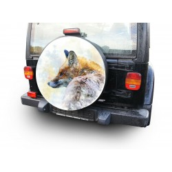 Themes Fox Spare Wheel Cover