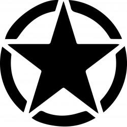 Themes U.S. Army star Spare Wheel Cover