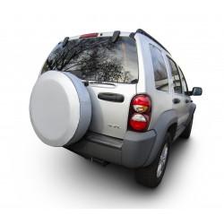 Cubierta de rueda de repuesto de plata de carbono