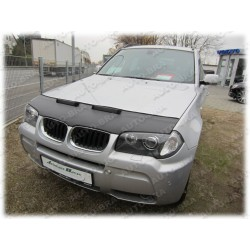 Hood Bra for BMW X3 E83 m.y. 2003 - 2010