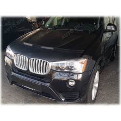 Hood Bra for BMW X3 F25 m.y. 2010 -2017