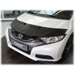 Hood Bra for  Honda Civic 9 generation  m.y. 2011 - 2014