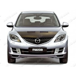 Hood Bra for   Mazda 6 2. Gen m.y.  2008 - 2012