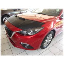 Hood Bra for   Mazda 3 3. Gen. typ BM m.y. 2013-present