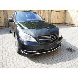 Hood Bra for Mercedes S-Klasse W221 m.y. 2005-2013